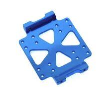 STRC Tamiya CR01 Machined Aluminum Center Skid Plate BLUE STT95887B  Crawler