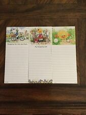 New 3 Piece Set  Suzy's Zoo Notepads All Different/ Ducks SO CUTE!