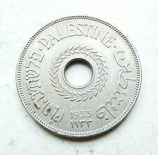 PALESTINE  20 mils 1933