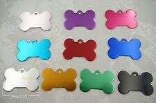 10pcs- Color Aluminium Bone Plate for Dog ID tag (Blank),1.5''x 1'' (38mmx 25mm)