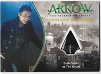Arrow Season 1 Costume Relic Wardrobe Card M23 Seth Gabel The Count VARIANT