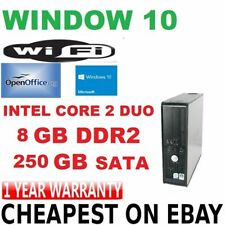 Computer desktop Dell con hard disk da 250GB