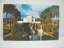 Vintage Postcard LDS LATTER DAY SAINTS MORMON TEMPLE LAIE OAHU HAWAII