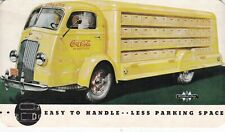 Coca Cola International Delivery Truck United States Postcard Rare Mint Cond.