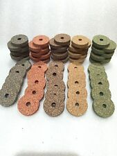 "Cork Rings Superior Burl Assortment , 5 Colors, 60 Rings, 1 1/4"" x 1/4"" x 1/4"""