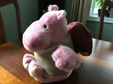 Vintage Oriental Toy Co Japan Hippo Plush Toy Culture-Club Look w/Shirt Backpack