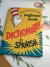Dr Seuss - The Cat In The Hat - Beginner Book -  Dictionary in Spanish