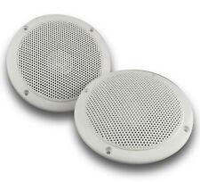 Marine speakers white waterproof 5.25 inch 135mm 4ohm IP65 spa