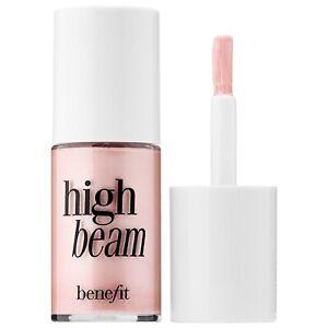 Benefit Cosmetics High Beam Satin Pink Liquid Cream Highlighter 4ml Light Glow