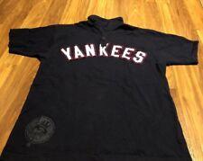 New York Yankees 2XL Retro Wright & Ditson Polo Shirt Jersey Sewn MLB