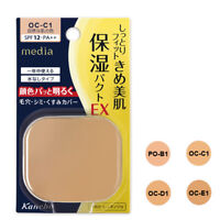 [KANEBO MEDIA] Moist Fit Pact EX Pressed Powder Foundation SPF12 PA++ REFILL NEW