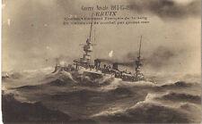 guerre navale 1914-1918  BRUIX croiseur cuirassé français