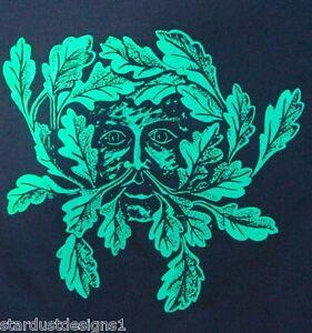 "greenman ""green man"" t shirt  pagan wicca gothic"