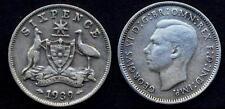 AUSTRALIA 6 Pence 1939 AG