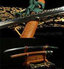 T10  UNOKUBI-ZUKURI CLAY TEMPERED  JAPANESE SAMURAI SWORD KATANA COPPER TSUBA