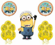 (19PC) Despicable Me 2 Minions  Birthday Party Combo Balloons