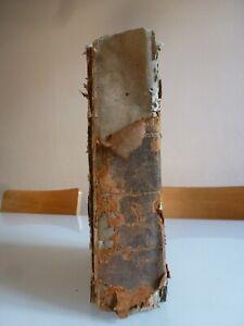 """"""" LA SAINTE BIBLE """" 1848 LE MAISTRE DE SACY"""