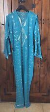 Long Dress Galabeya Assuit Tulle Belly dance Tribal Ethnic Dancewear Hand made