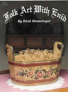Folk Art - Folk Art With Enid (BK1) by Enid Hoessinger