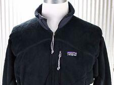 Patagonia Vintage Regulator Fleece Jacket Men L large black R2 stretch 25131 USA