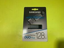 Brand New Samsung Duo Plus 128GB - 300MB/s USB 3.1 Flash Drive (MUF-128DB/AM)