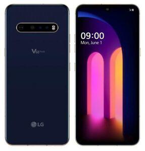 LG V60 ThinQ 5G LM-V600AM 128GB Classy Blue AT&T BRANDED GSM Unlocked Very Good