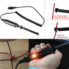 6V/12V/24V DC Auto Car Truck Voltage Circuit Tester Hook Probe Test Light Pencil