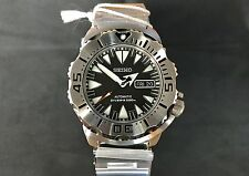 Seiko Monster SRP307K1 Men's Diver Watch 200m Black Dial Bracelet