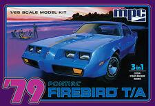 MPC 1979 Pontiac Firebird T-A 1:25 Model Kit MCP820-NEW