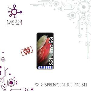 SAMSUNG Galaxy S21 Ultra 512GB 5G Schwarz - NEUHEIT 2021
