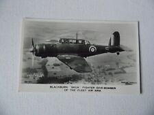 Aircraft - Blackburn Skua - Fighter Dive Bomber - Ref: 38A-40C - Postcard (2).