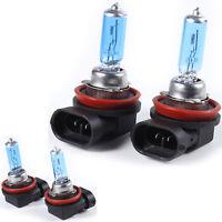 2pcs White Fog Halogen Bulbs Super Bright Car Head Light H11 55W Lamp 12V