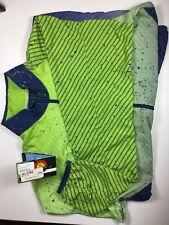 SheBeast Cascade Windshell Blue/Green Women's XL