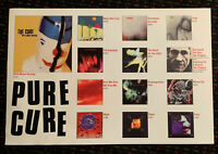 the CURE 20x30 PURE album covers catalog promo poster 2sided display Elektra