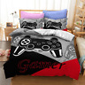 3D PlayStation Grey Gamer Bedding Set Doona Quilt Cover Duvet Cover Pillow Case