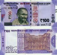 India 2018 Rupees 100 UNC Banknote - First Issue