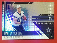 2018 Unparalleled Dalton Schultz Rookie Card RC Dallas Cowboys FREE SHIPPING