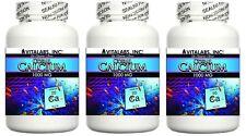 3x Coral Calcium Pills 1000mg Marine Grade Calcium Magnesium Bones Osteoporosis