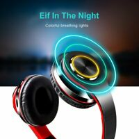 Wireless Bluetooth v5.0 Stereo Headphones Earphones Noise Cancelling Headset USA