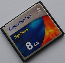 8gb per Sony DSLR-A 350 Alpha a350 8 GB COMPACT FLASH CF SCHEDA DI MEMORIA
