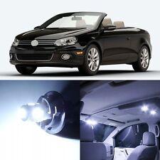 12 x Xenon White Interior LED Lights For 2007 - 2016 Volkswagen VW EOS +TOOL