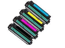 KIT 4 Toner per HP CE400A LaserJet Enterprise 500 Color M551n / MFP M575 M570