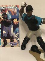 1996 Charles Johnson Starting Lineup Baseball figure Card toy Florida Marlins