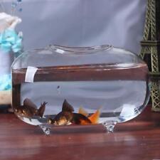 18cm Clear Glass Vase Fish Tank Ball Bowl Flower Planter Terrarium Home Deco