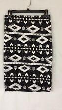 Rue 21 Southwestern Print Pencil Skirt Spandex Blend Size M