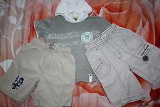 TOPOLONO SANETTA  Kinder T-Shirt Shorts 3-tlg Set  BAUMWOLLE Gr. 98-104