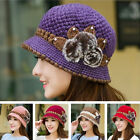 New Women Slouch Baggy Winter Warm Soft Knit Crochet Beanie Hat Beret Ski Cap