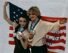 Meryl Davis USA Ice Dancing Olympic Medalist Signed 8x10 Autographed Photo COA