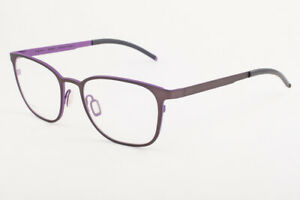 Orgreen GLIMMER 698 Matte Brown / Matte Plum Titanium Eyeglasses 50mm