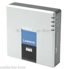 Gestori Linksys spa3102 Voip PSTN Phone Adapter with FXS + FXO + 2x Ethernet po